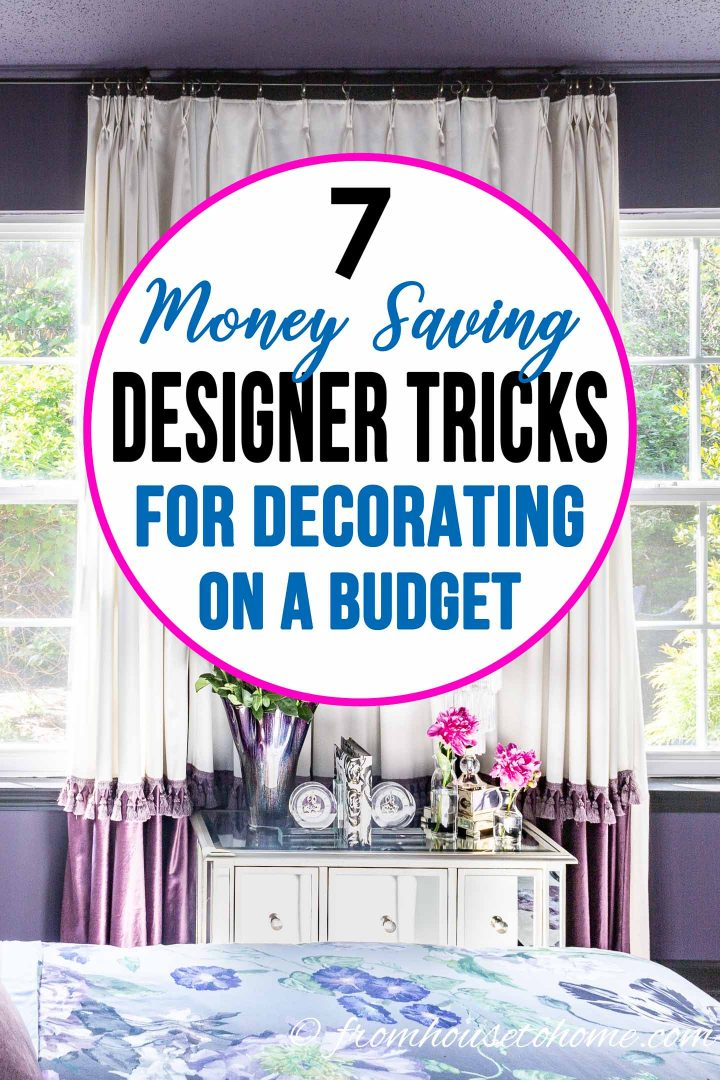 7 money saving designer tricks for decorating your home on - How to decorate a house with no money ...
