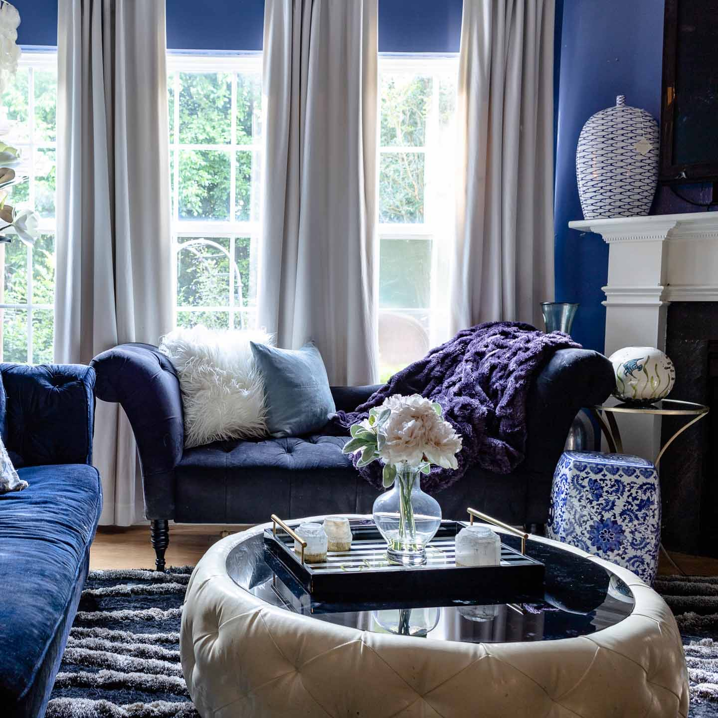 Home Design Color Ideas: Blue And White Decorating Ideas: 10 Ways To Decorate With