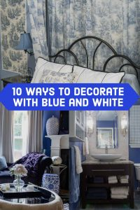 10 blue and white home decorating ideas