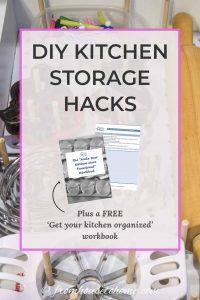 DIY Kitchen Storage Hacks