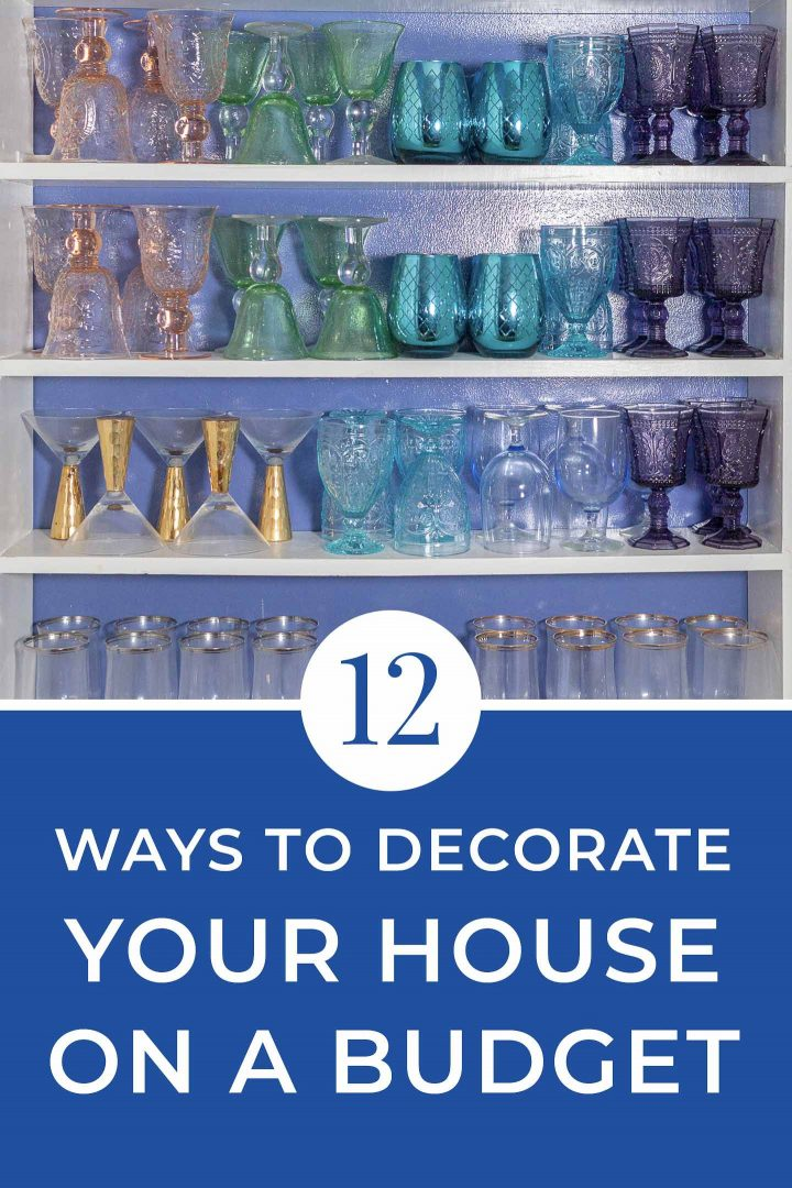 12 ways to decorate your home on a budget