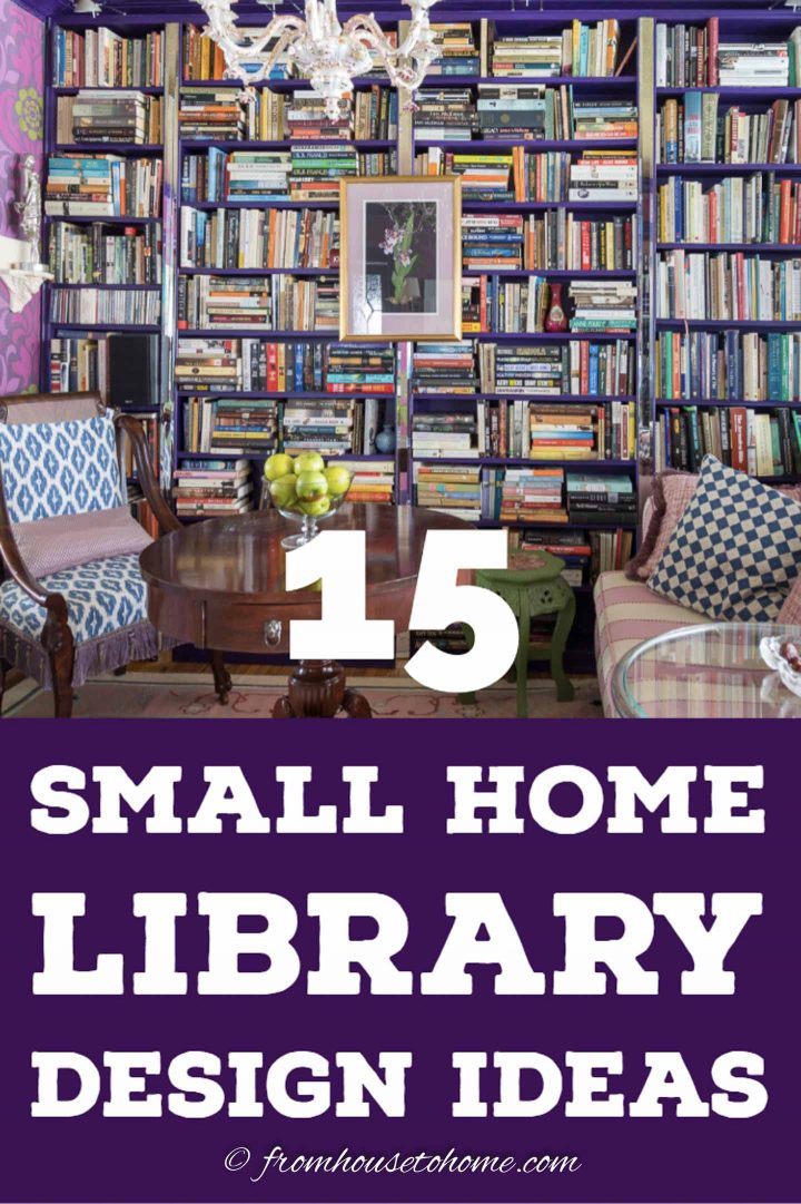 Home Library Design: Cozy Reading Room Ideas: 15 Creative Small Home Library
