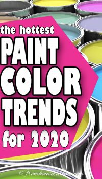 The hottest paint color trends for 2020