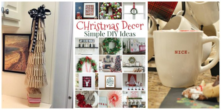 Best DIY Holiday Decor Ideas