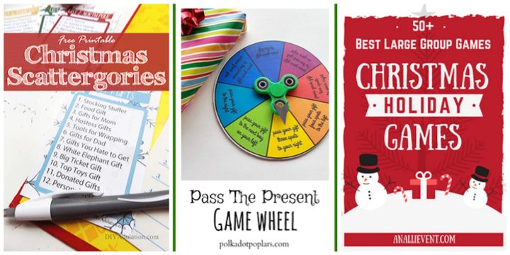 Christmas Scattergories, Pass the Present, and 50+ Large Group Games