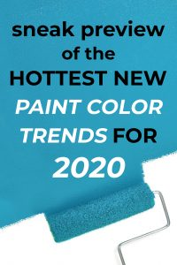 2020 paint color trends