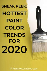 Sneak peek at the hottest paint color trends for 2020