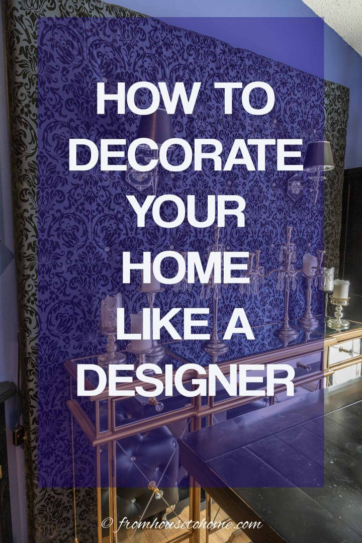 Room design ideas: How to decorate your home like a designer