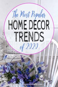 home decor trends of 2020