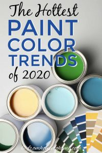 The hottest paint color trends of 2020