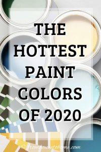 2020 paint colors