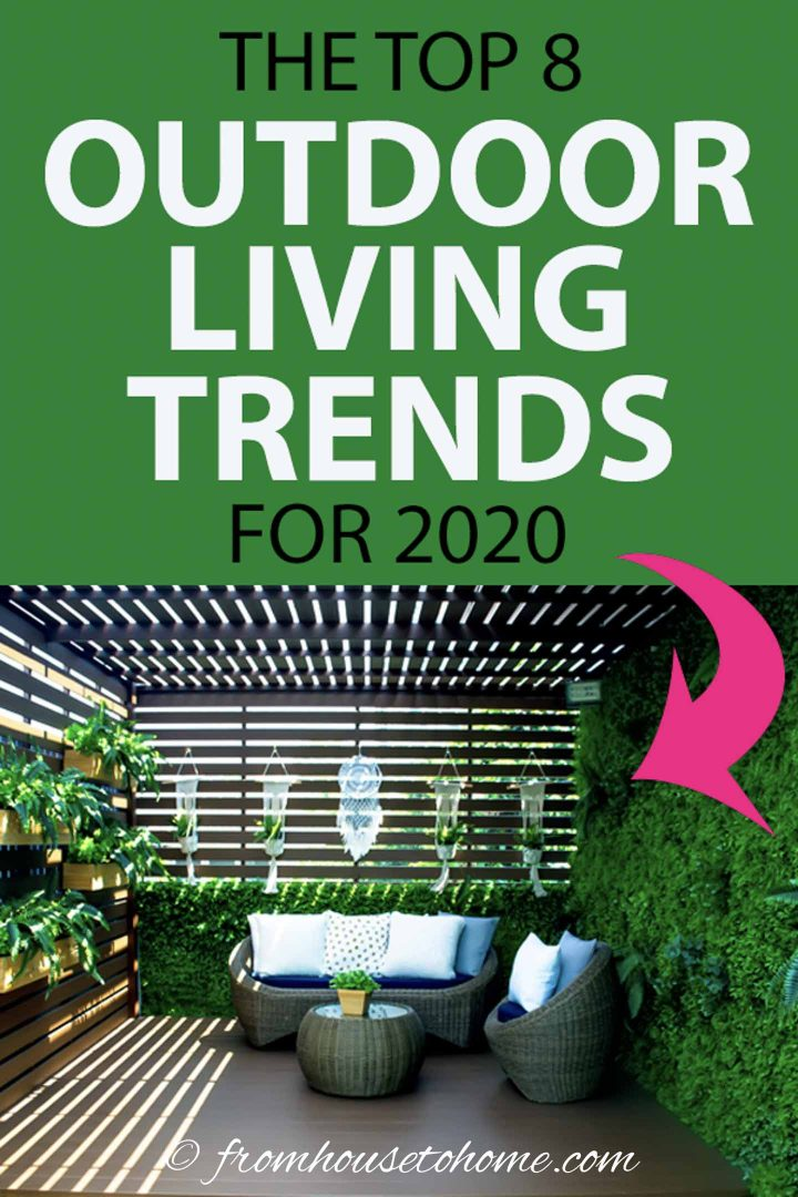 The top 8 outdoor living trends for 2020