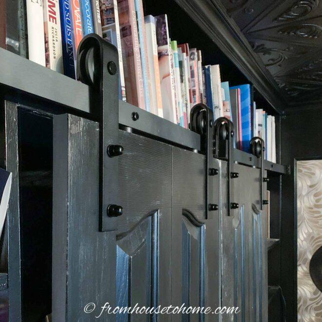 how to convert bifold doors to barn doors