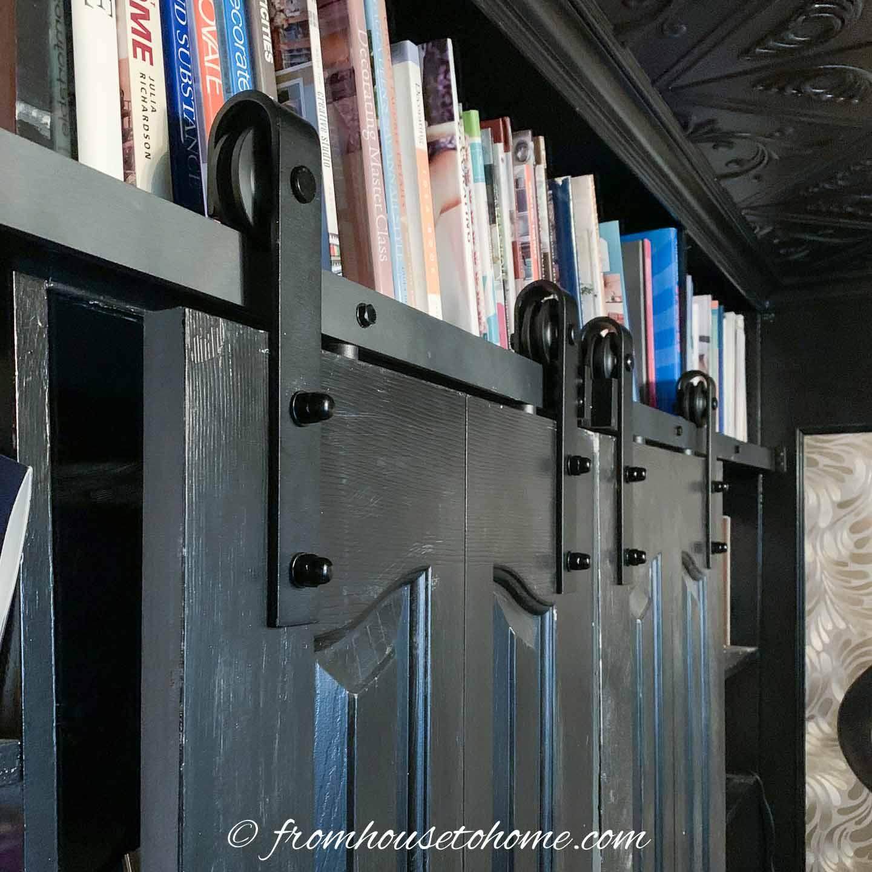 Bifold Door Makeover How To Convert Bifold Doors To Barn Doors