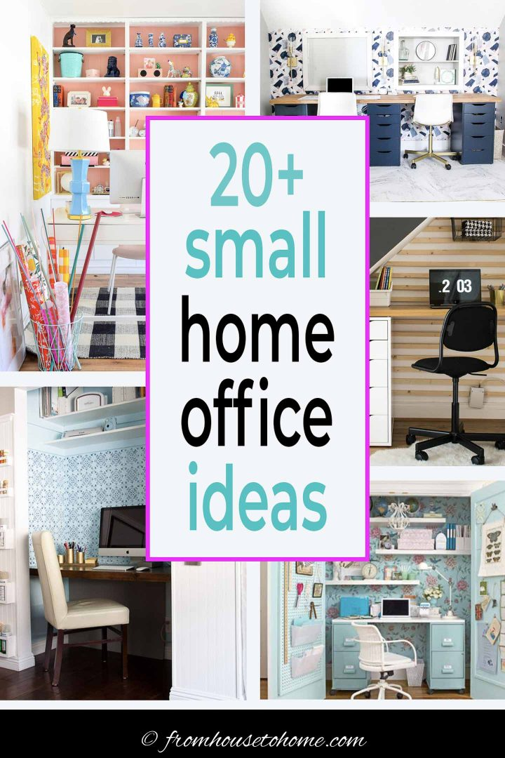 20+ small home office ideas