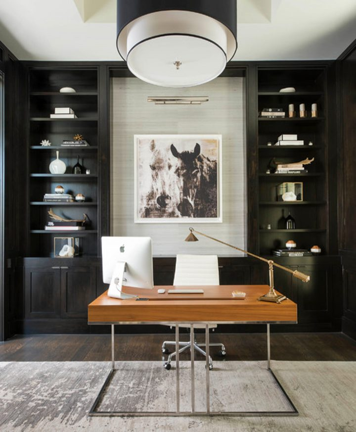 20+ Small Home Office Interior Design Ideas