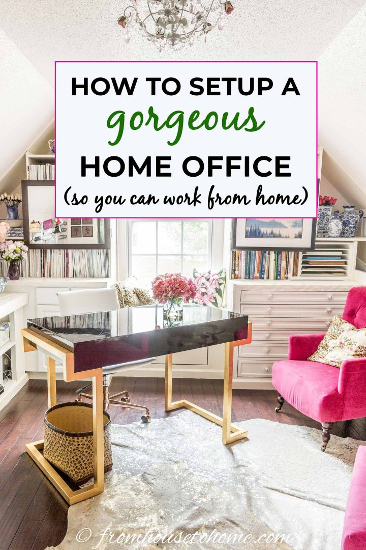 how to setup a home office (so you can work from home)