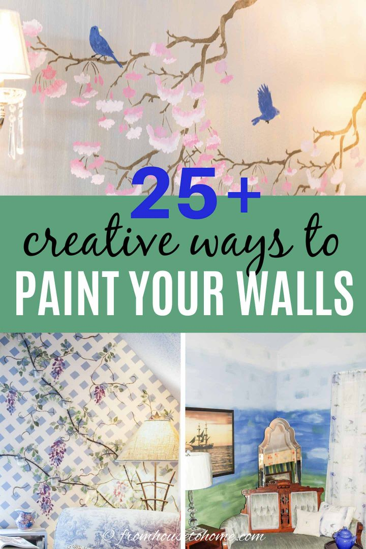 25+ creative ways to paint your walls