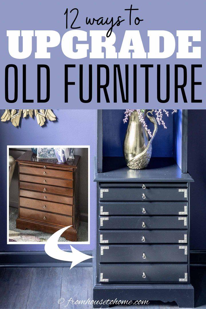 12 old furniture makeovers
