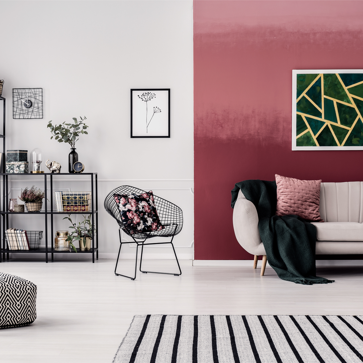 Wall Paint Design Ideas With Tape 10 Diy Painting Projects