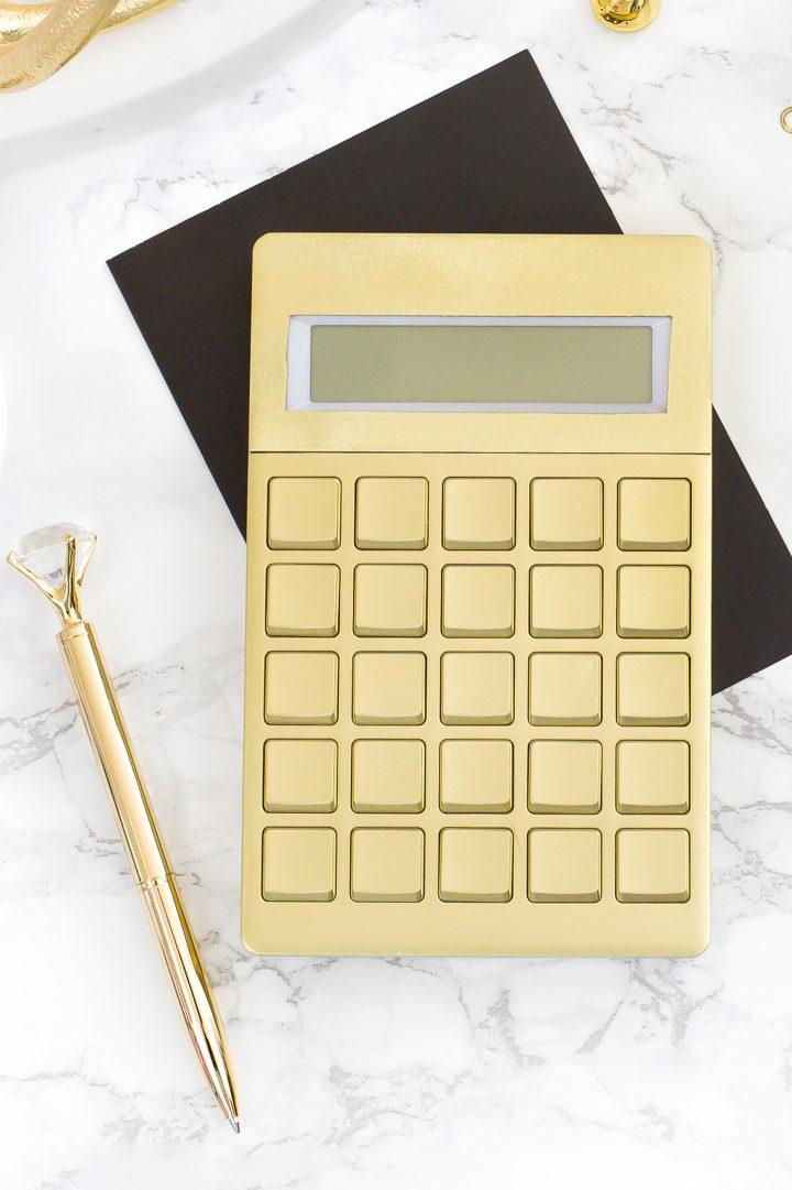 Gold calculator