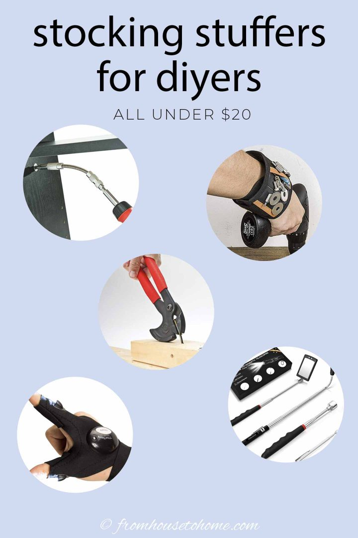 stocking stuffers for diyers - all under $20