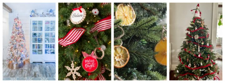 More Christmas tree decor ideas