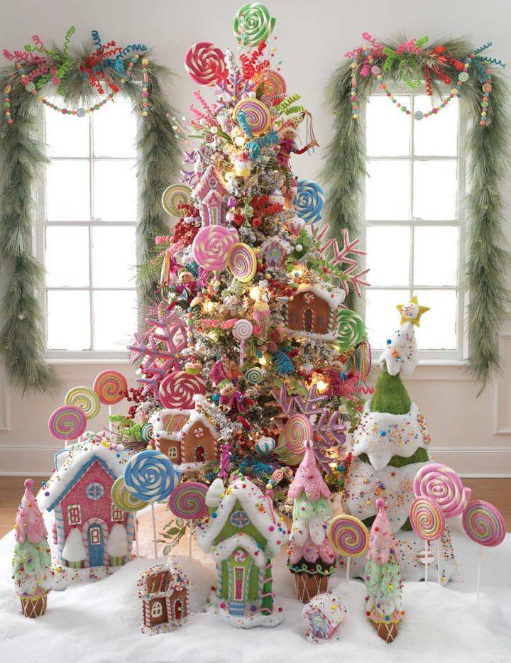 Candyland Christmas Tree by razchristmas.blogspot.com