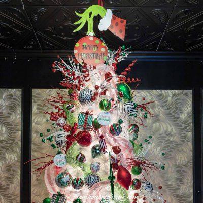grinch christmas tree