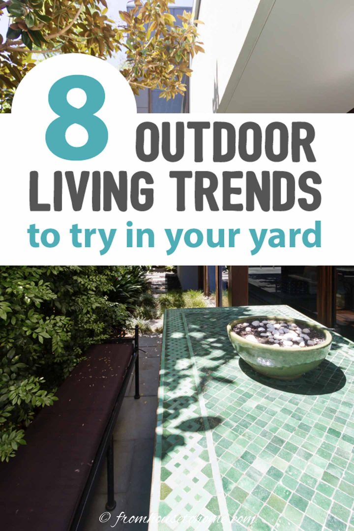 outdoor living trends to try in your yard