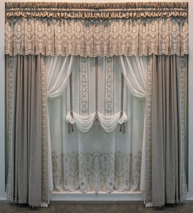 outdated curtains