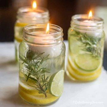 diy citronella candle