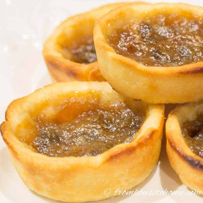 Traditional Canadian Butter Tarts