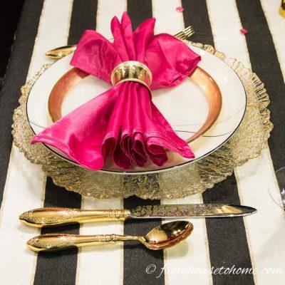 Kate Spade Table Setting